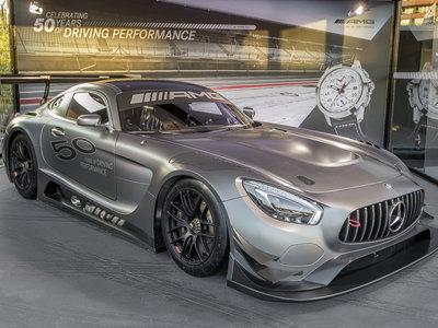 El Mercedes-AMG GT3 Edition 50 es un aperitivo al 50 Aniversario de Mercedes-AMG