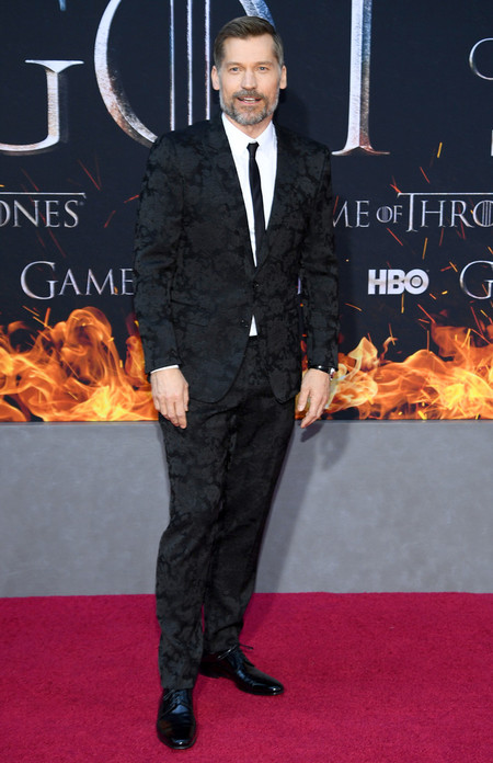 Nikolaj Coster Waldau Game Of Thrones Final Season Premiere Red Carpet