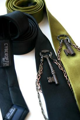 Corbata inspirada en Harry Houdini