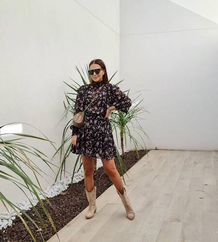 Paula Echevarria Vestido Estampado Embarazo 01