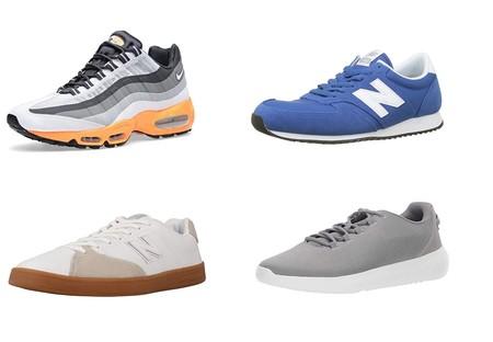 Chollos en tallas sueltas de zapatillas Under Armour, New Balance o Nike por menos de 30 euros en Amazon