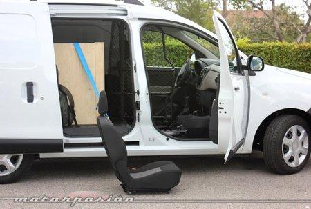 Easy Seat en el Dacia Dokker Van
