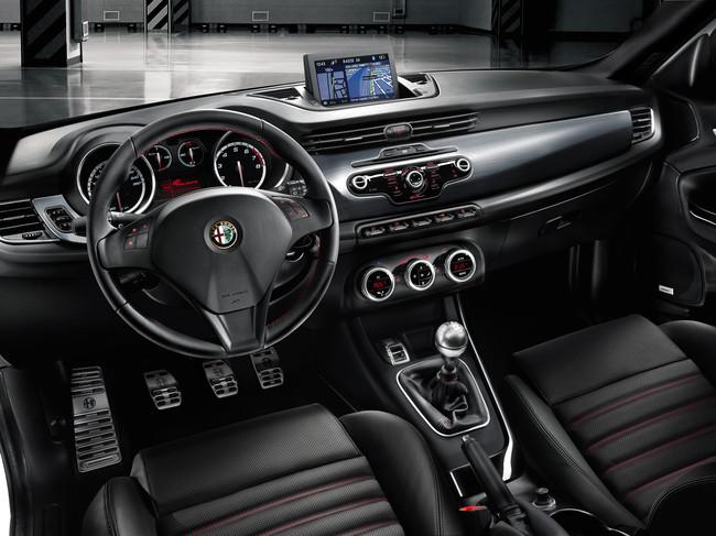 Alfa Romeo Giulietta Sportiva, vista interior