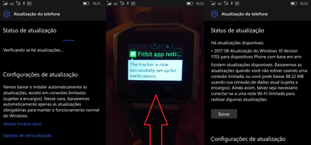 Las notificaciones en los dispositivos Fitbit llegan a Windows 10 Mobile con la última actualización acumulativa