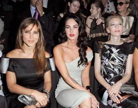 Megan Fox sustituye a Victoria Beckham como imagen de Armani Lingerie