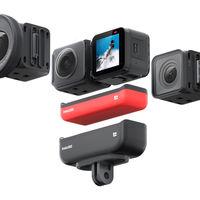 Insta360 ONE R: la cámara de acción modular a la que le puedes cambiar las lentes