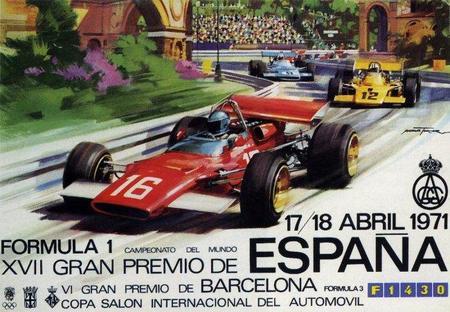 Gran Premio de España de 1971: Segunda carrera en Montjuïc, una cita histórica