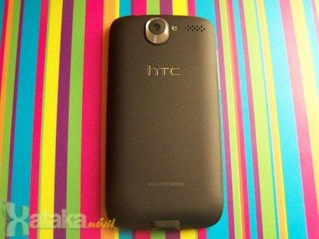 HTC Desire parte trasera