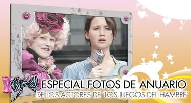Especial fotos de anuario: Los actores de 'Los juegos del Hambre'