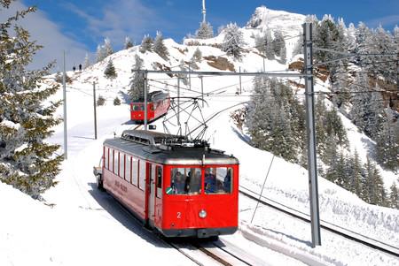 Vitznau Rigibahn Elektrische Motorwagen