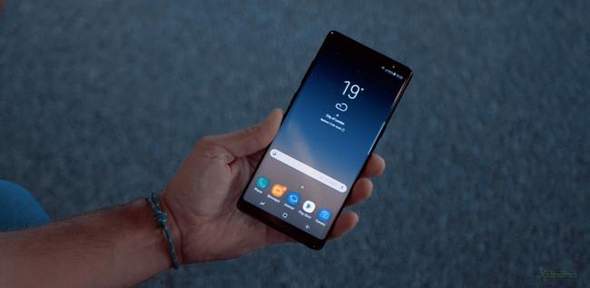 La pantalla del Samsung Galaxy Note 8 es sobresaliente, la primera con esa calificación para DisplayMate