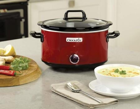 Esta olla de cocción lenta Crock-Pot tiene más de 2.000 valoraciones y está rebajadísima durante el Prime Day: llévatela por 25,99 euros