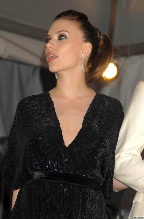 Foto de Peinados navideños, por Scarlett Johansson (5/9)