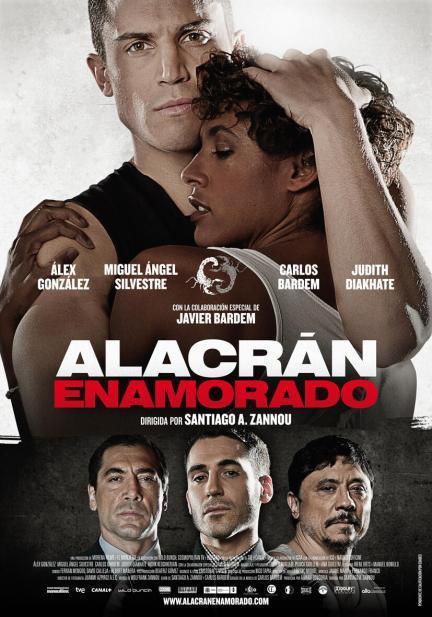 'Alacrán enamorado', póster y tráiler de lo último de Santiago A. Zannou