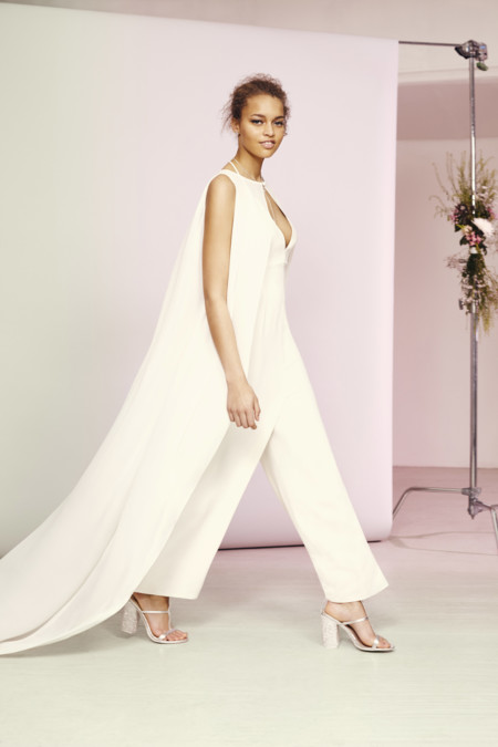 Asos Bridal Jumpsuit With Cape Overlay U150 Live 14 03