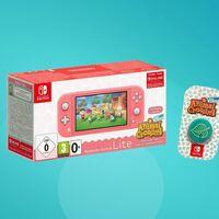 Nintendo Switch Lite con Animal Crossing y 3 meses de Nintendo Online rebajadisimo en eBay a 189 euros con este cupón