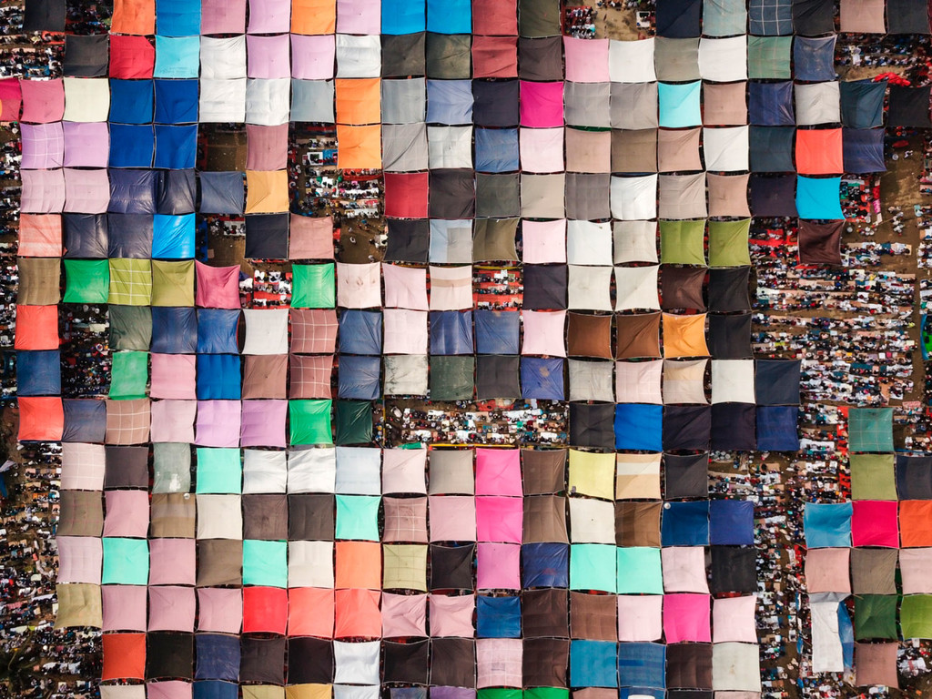 'Pilgrimage of Millions of People', de Qinghua Shui (China)