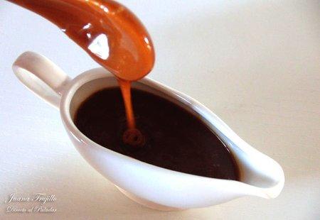 Receta de salsa de caramelo salada