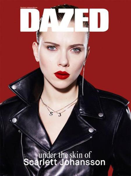 Scarlett Johansson portada número marzo 2014 Dazed and Confused por Benjamin Alexander Huseby
