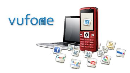 Vufone, sincronización y respaldo del móvil por Internet