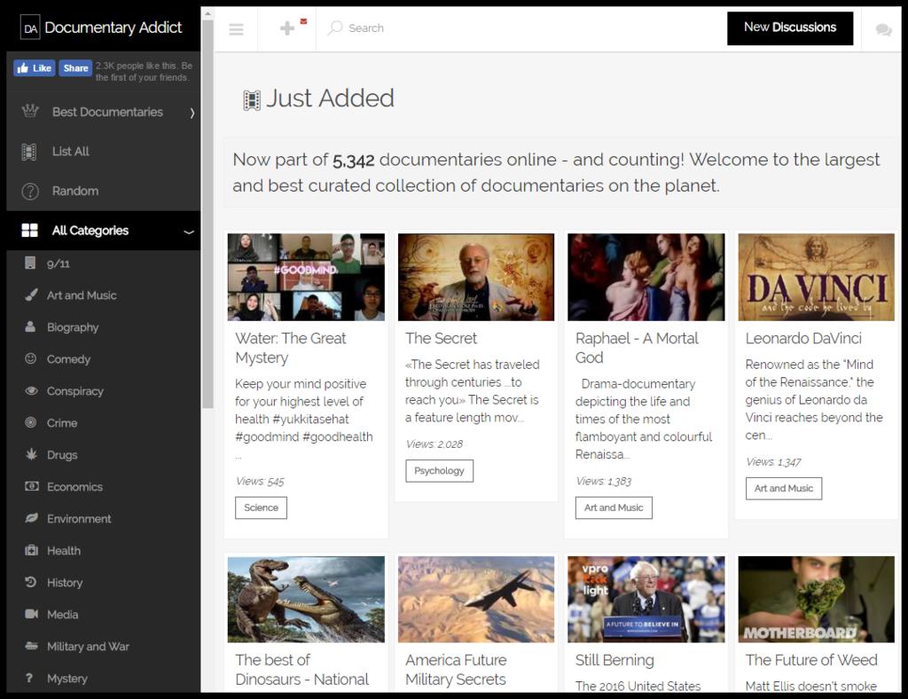 Watch Free Documentaries Online Documentary Addict