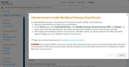 BlackBerry Business Cloud