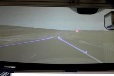 Realidad aumentada en el parabrisas de tu coche, cada vez más cerca