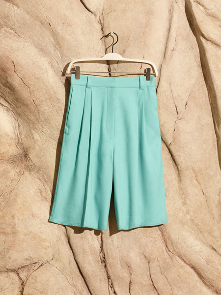 Pantalon Corto De SargaPantalón corto de sarga