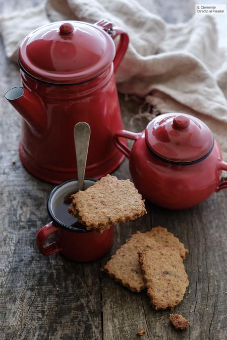 Galletas integrales de muesli y panela: Receta para un desayuno energético