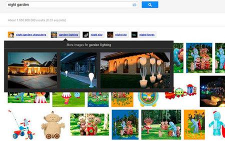 Google Imágenes incorporará un nuevo sistema de búsquedas relacionadas