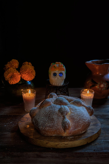 Paseo por la gastronomía de la red: recetas de Día de Muertos