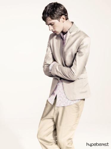 H&M, colección para hombre primavera-verano 2009 colores pastel