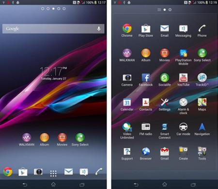 Aparecen capturas de pantalla del Sony Xperia ZU, el futuro Phablet de Sony