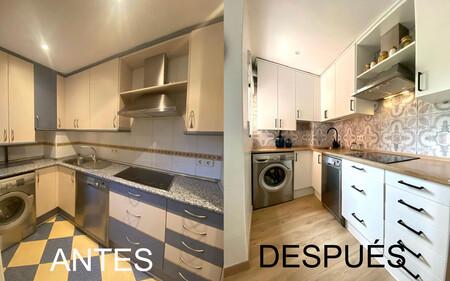 Antes y Después; la transformación (sin obras) de una cocina que ahora derrocha estilo nórdico