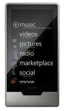 Zune HD sale hoy a la venta