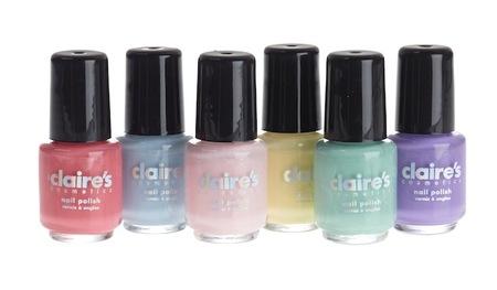 Nuevos esmaltes Claire's para esta Primavera-Verano 2013