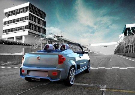 Fiat Uno Cabrio, el 500C que vino de Brasil