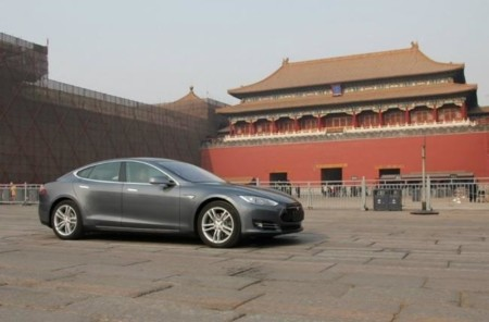 Tesla Model S China Palacio