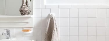 """El antes y después de un baño tras una reforma """"low cost"""" y sin obras"""