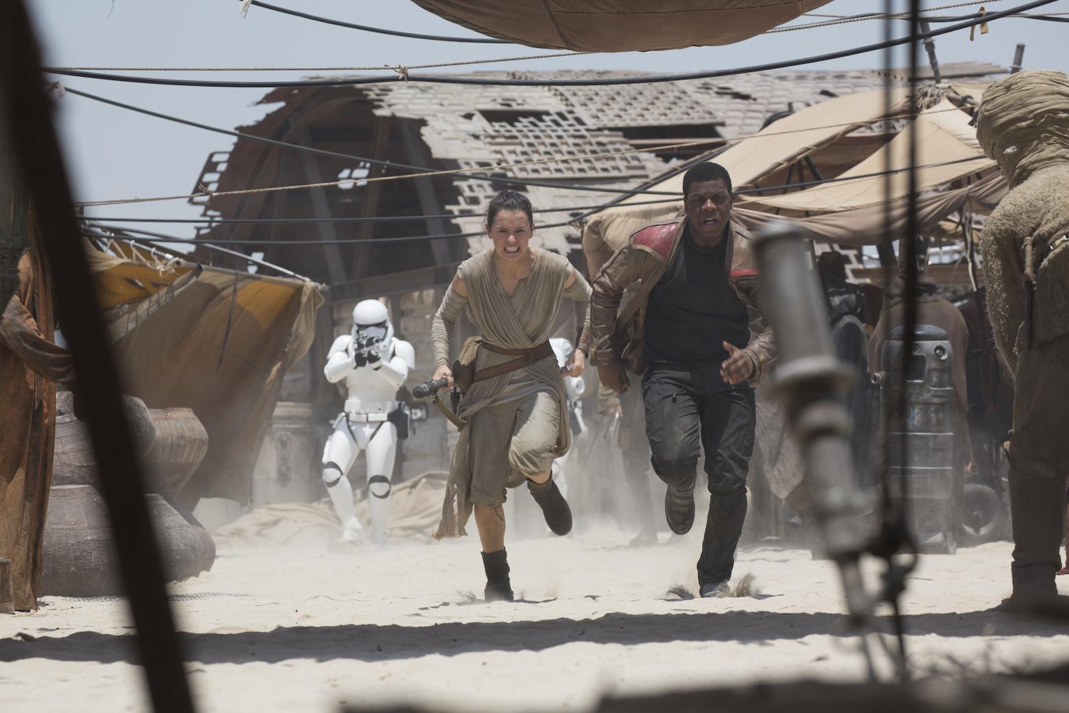 Foto de Los protagonistas de 'Star Wars: El despertar de la fuerza' (15/17)