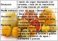 Ejemplo de menú de dieta depurativa para desintoxicar al organismo