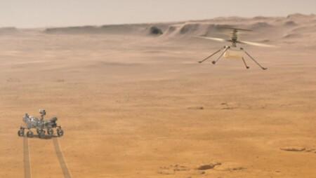 Ingenuity sobrevive su sexto vuelo en Marte: el helicóptero falló durante su elevación y envió fotos a la Tierra con errores