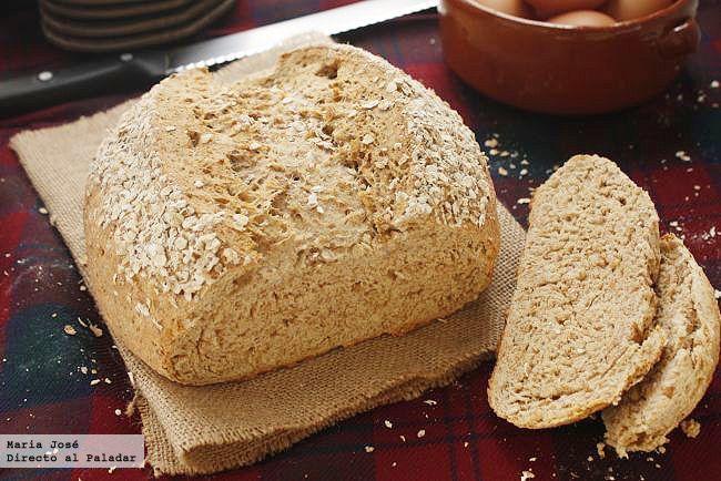 Pan de avena escocés