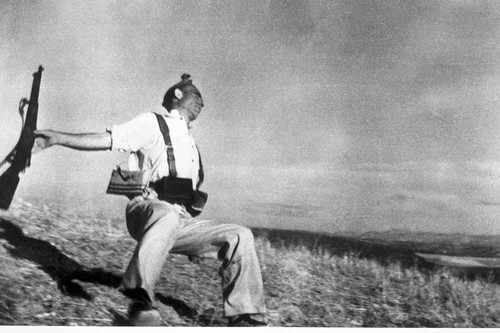 Grandes fotografías de la historia: 'Muerte de un miliciano' de Robert Capa