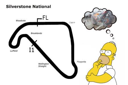 El BSB mete la tijera a Silverstone: Correrán en un tramo de 2,64 km para evitar el fiasco de MotoGP