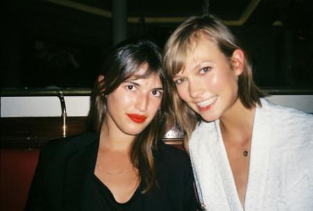 Jeanne Damas it girl style icon blogger francesa modelo Karlie Kloss