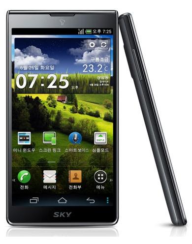 Pantech Vega S5, un killer para el Samsung Galaxy S3 en Corea