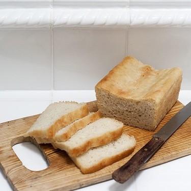 Receta de pan de molde sin amasado