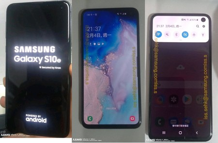 Leaked Galaxy S10e