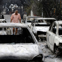 La destrucción provocada por los devastadores incendios de Grecia, contada en 17 imágenes